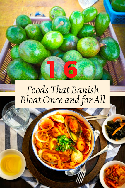 16 Foods That Banish Bloat Once and for All