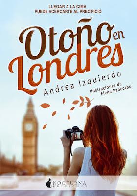Portada del libro Otoño en Londres de Andrea Izquierdo
