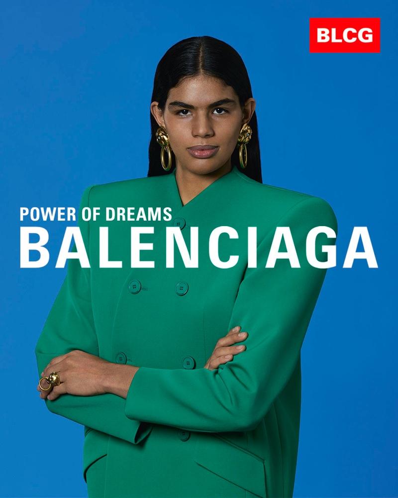 Balenciaga's spring 2020 campaign features political inspired portraits