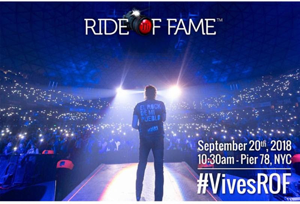 Carlos Vives llega al Radio City Music Hall con introduccin al Ride of Fame