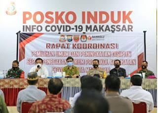 Pemkot Makassar Konsentrasi 'Pilkada Di Kota Makassar Berpotensi Di Tunda