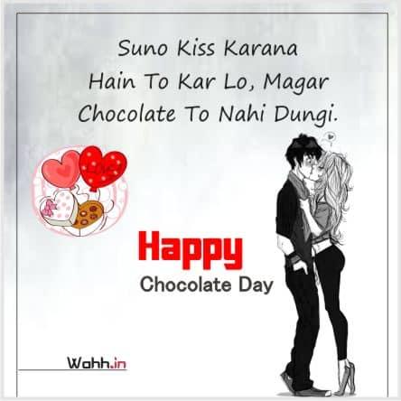 Chocolate Day Status and Shayari for Whatsapp