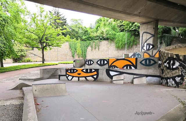 skatepark pont de sevres paris