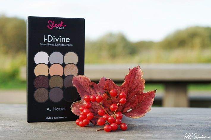 Sleek Makeup I-Divine Au Naturel Eyeshadow Palette