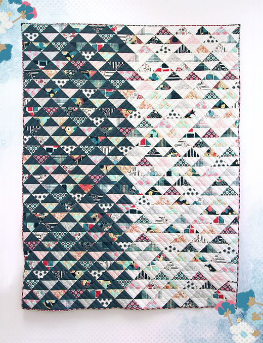 Daring Reflection Quilt Free Tuorial
