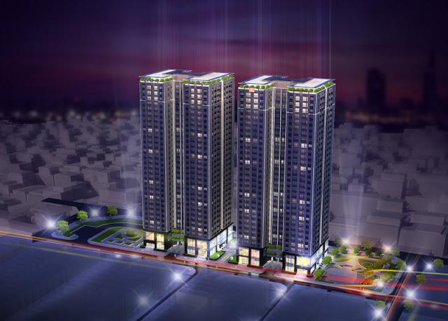 Phối cảnh chung cư Hải Đăng City | HD Mon City