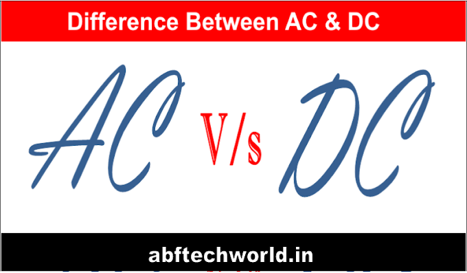 Difference Between AC And DC