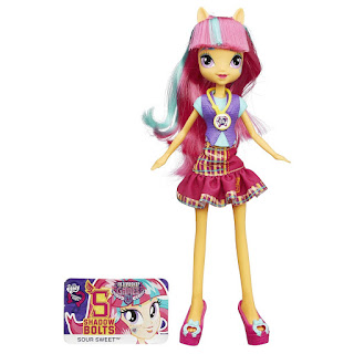 MLP Equestria Girls Friendship Games Sour Sweet School Spirit Doll