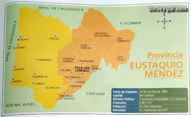 Provincia Eustaquio Méndez (Departamento de Tarija)