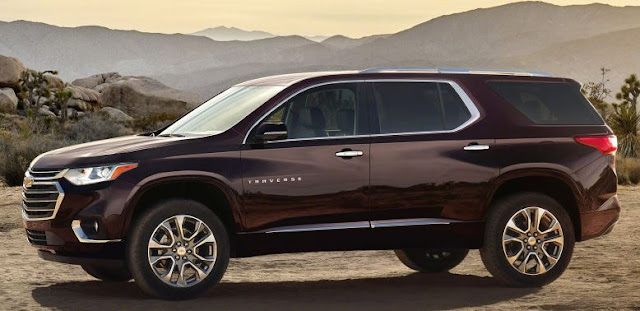 2018 Chevrolet Traverse Reviews end performance