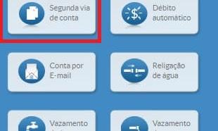 2 via Copasa -  Consulte e imprima sua conta de água