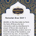 Ramadan Dua 2021 - daily dua for 30 days