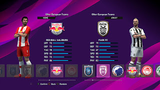New Teams Added (KRC Genk, FC Red Bull Salzburg, PAOK FC