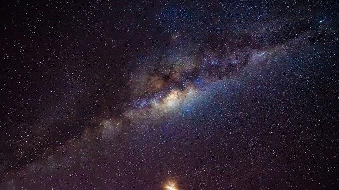 Linda Imagem da Via Láctea