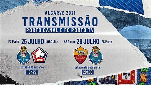 25 de julho, 19h45 e 28 de julho 20h: Porto Canal