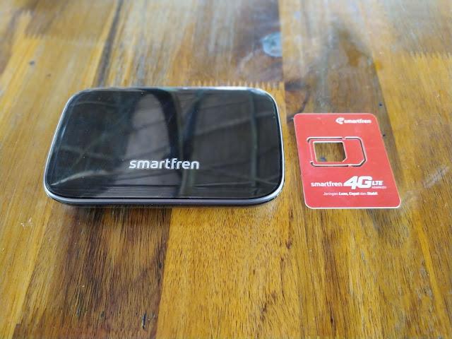 Menikmati Internet Sekencang di Cafe Dengan Modem Smartfren WiFi M6x