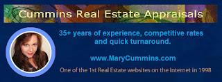 Mary Cummins real estate appraiser appraisal Los Angeles California first internet website, real estate