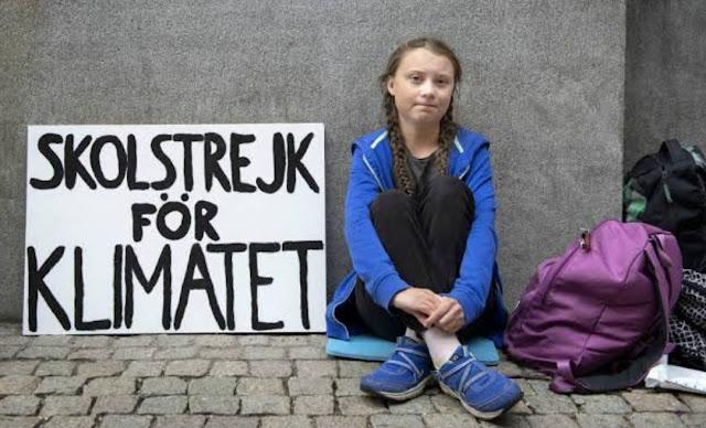 Greta Thunberg, remaja yang bertransformasi dari aktivis lokal di Swedia menjadi ikon global kampanye perubahan lingkungan