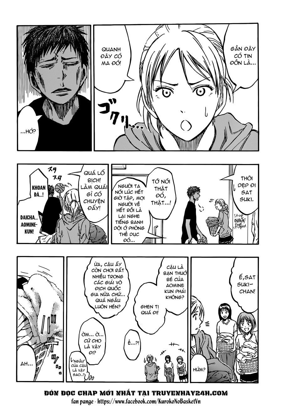 Kuroko No Basket chap 205 trang 8