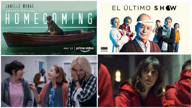 Trailer de 'Homecoming', 'Madres'. 'El último show' salta a Hbo España.