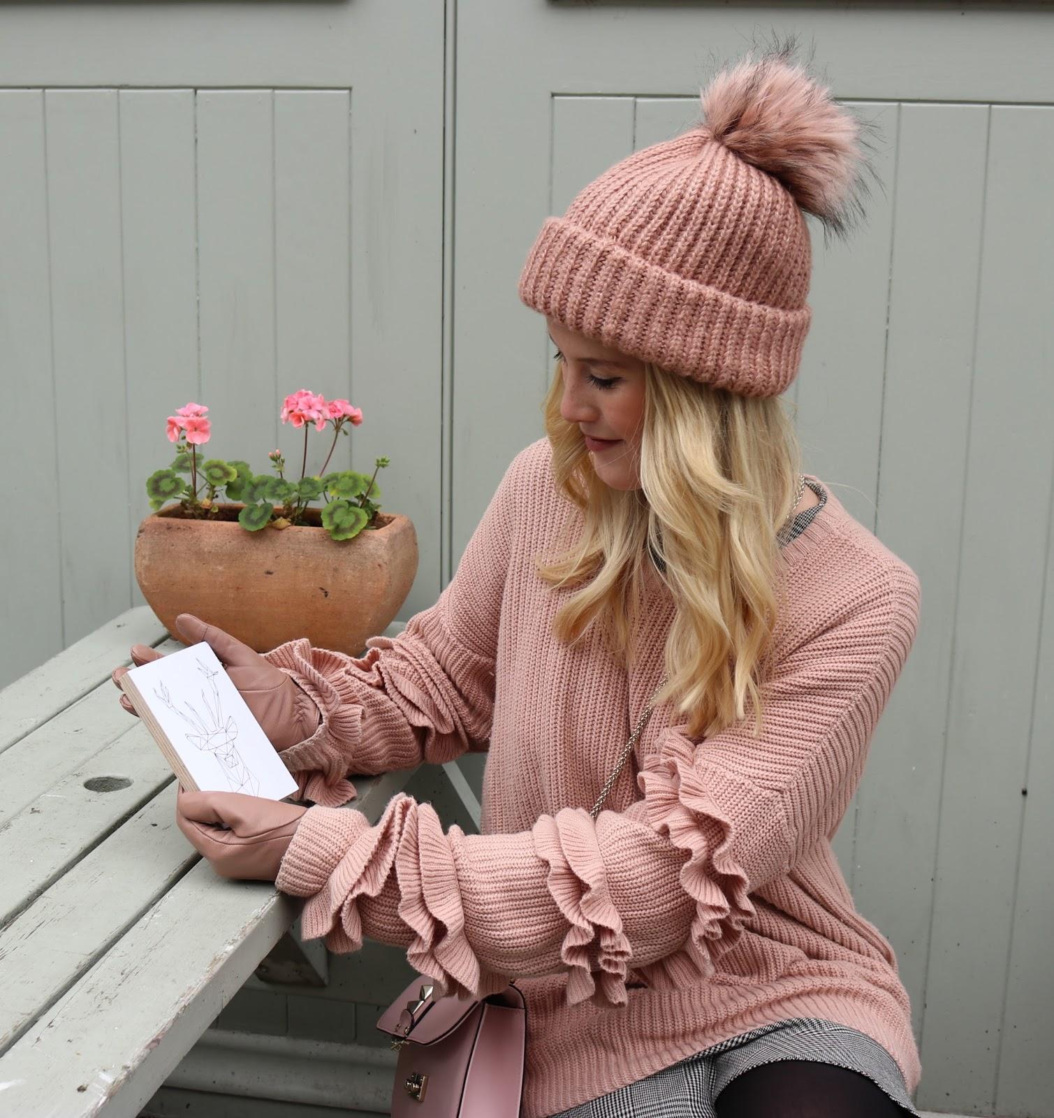 Adventskalender Blogger Giveaway kwadrat Bilder auf Holz drucken Hirsch Print