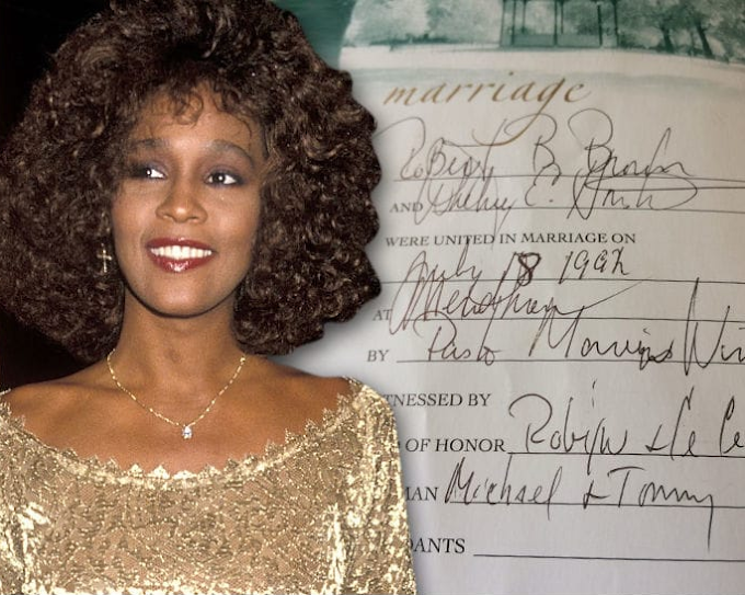 Whitney Houston's bible to be sold for $95,000