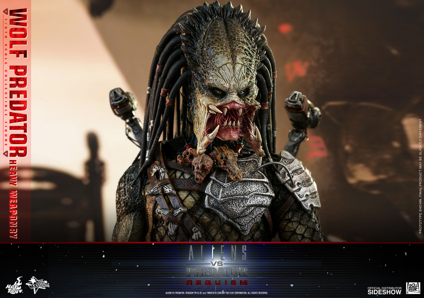 Another Tell Tale Sign That The Hot Toys Wolf Predator Is A Formidable Warrior His Mastery Of Diverse Weapons In Arsenal