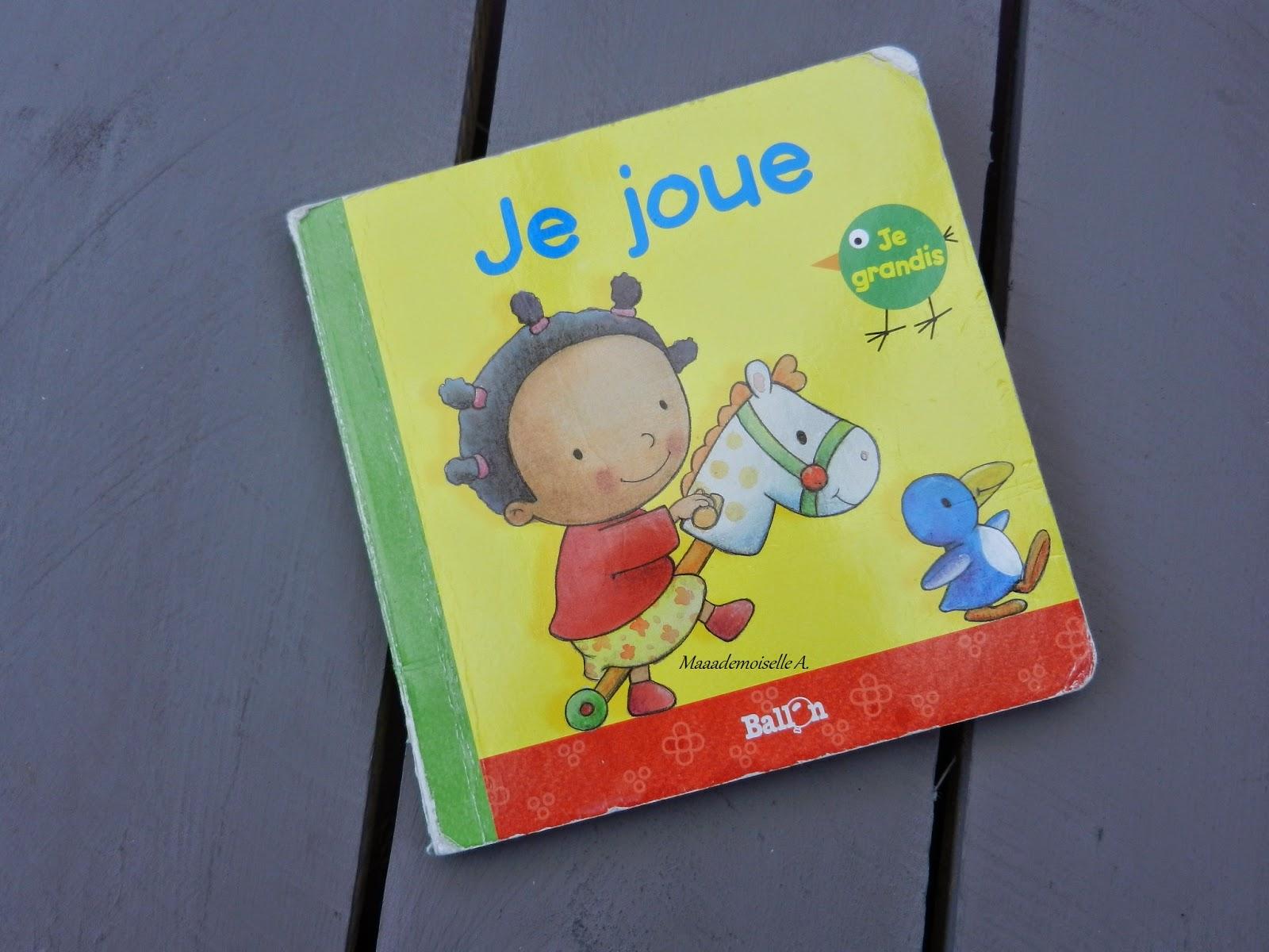 [Livre pour bébé : Présentation & Avis] Je joue [Chut, les enfants lisent #2]