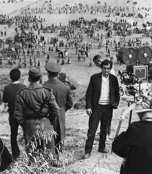 Fotografías del rodaje de Espartaco en España