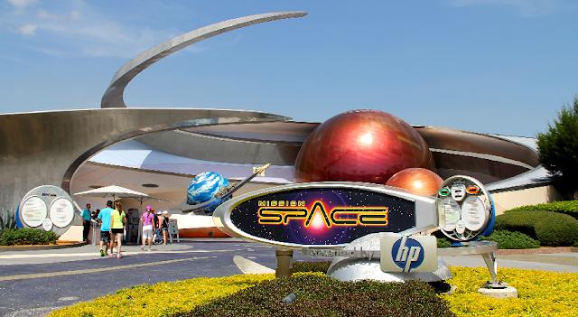 Brinquedo Mission: SPACE  no Epcot em Orlando