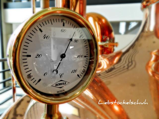 Thermometer Sudkessel Brauhaus