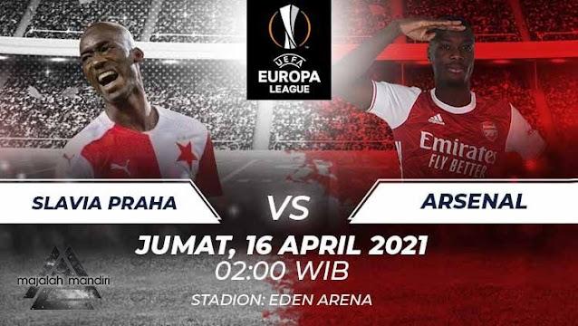 Prediksi Slavia Praha Vs Arsenal