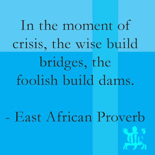 Crisis African Proverb