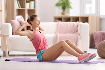 eliminating belly fat with sit-ups