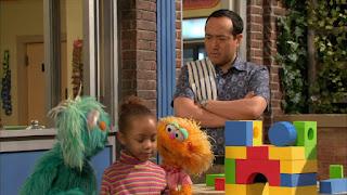 Alan, Zoe, Rosita, Devon, Sesame Street Episode 4311 Telly the Tiebreaker season 43
