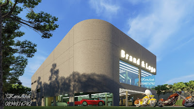 รับออกแบบอู่ซ่อมรถ เจ้าของอาคาร Siam Automotive Co.,Ltd สถานที่ก่อสร้าง เขตมีนบุรี กทม.