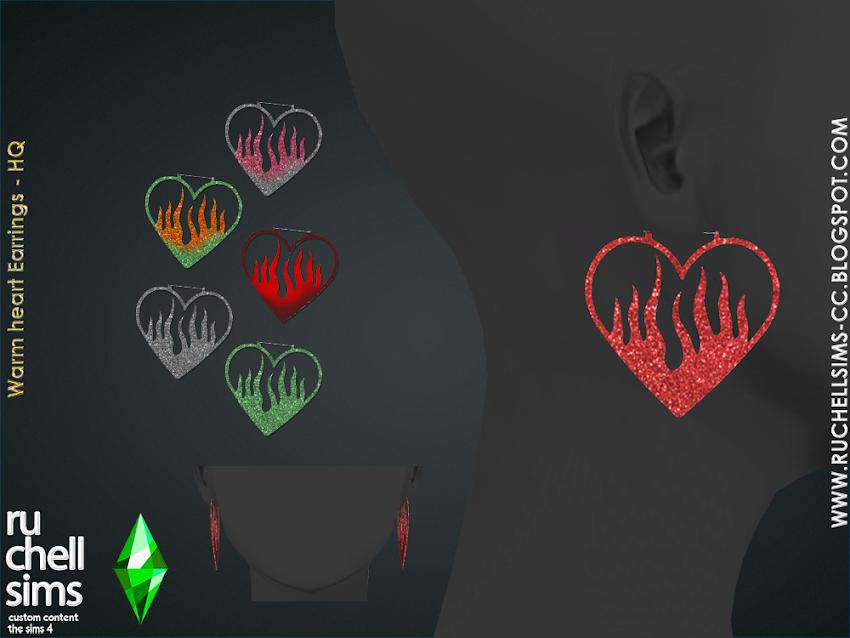 WARM HEART EARRINGS [FREE. GIFT]