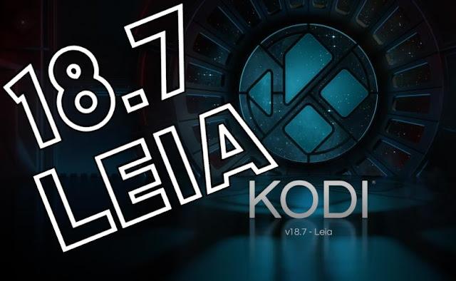 Descarga 18.7 KODI Leia