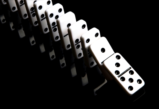 Dominoes Falling Wallpaper God And Logic Do You Have A Choice