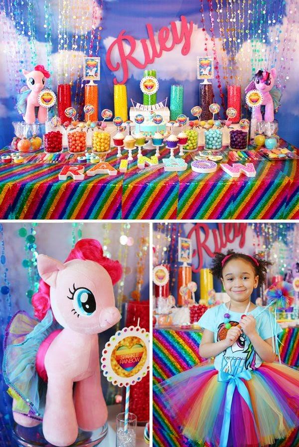 Decoracion de my little pony para fiesta for Decoracion fiesta infantil nina