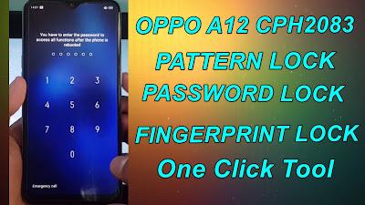 Oppo A12 Password-Pattern Unlock| Oppo CPH2083 Pattern & Pattern Remove One Click.