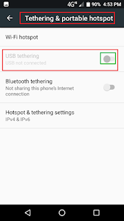 Using internet from smart phone gadgets
