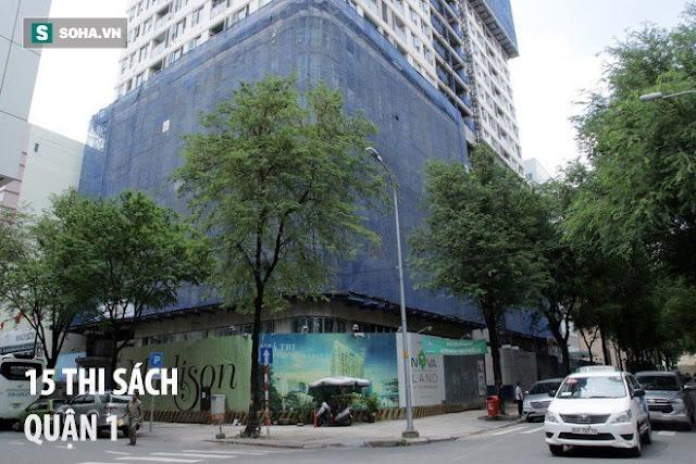 Khu nhà đất vàng 15 Thi Sách (quận 1) được triển khai xây dựng khu phức hợp 15 tầng