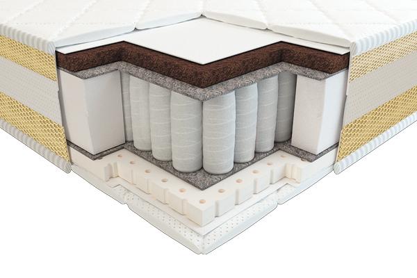 Детский ортопедический матрас Тиана 3D латекс кокос comfort зима-лето 60х120 ТМ Неолюкс