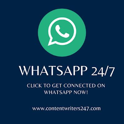 Content Writers WhatsApp
