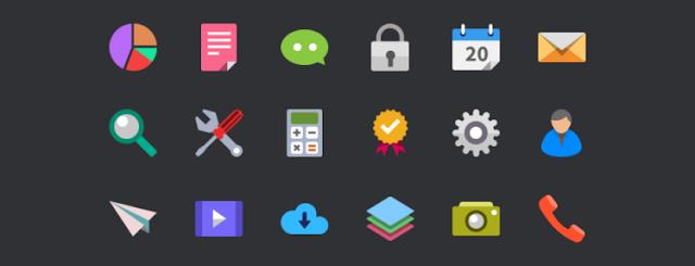 Coleccion de iconos gratuitos para diseños web