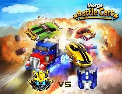 Merge Battle Car استمتع بلعبة الخمول المثير للإعجاب على أجهزتك المحمولة متى وأينما تريد