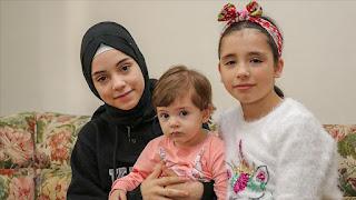 شقيقتان سوريتان يطلبان المساعدة لأطفال سوريا بثلاثة لغات(فيديو)