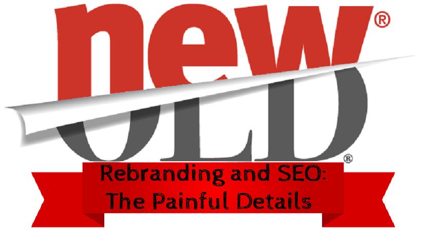 rebranding website seo