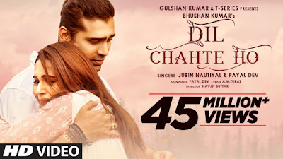 Dil Chahte Ho Lyrics in English By Jubin Nautiyal